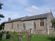Briston, All Saints church, Norfolk © Adrian S Pye